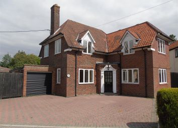Thumbnail 4 bed detached house for sale in The Tye, Barking, Ipswich