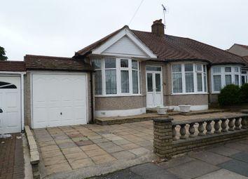 Thumbnail 2 bedroom semi-detached bungalow for sale in Leigh Avenue, Redbridge
