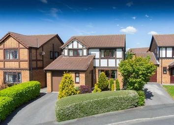 Thumbnail 4 bed detached house for sale in Greenfields Crescent, Wesham, Preston