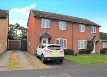 Thumbnail Semi-detached house for sale in Bennett Avenue, Elmswell, Bury St. Edmunds