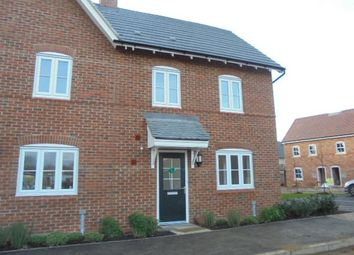 Thumbnail 2 bed end terrace house to rent in Baker Drive, Kempston, Bedford