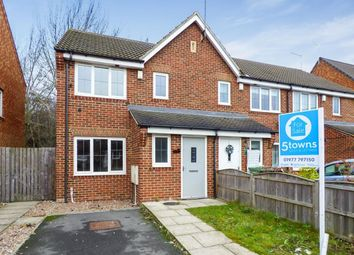 Thumbnail 3 bed semi-detached house to rent in Cromwell Mount, Pontefract, West Yorkshire