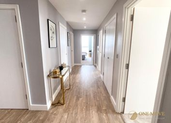Thumbnail 3 bed flat to rent in Gladwin Tower, 50 Wandsworth Road, London