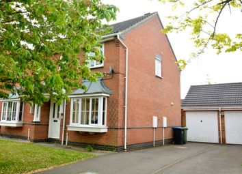 Thumbnail 3 bedroom semi-detached house to rent in Gale Close, Lutterworth, Leicestershire