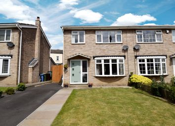 Thumbnail 3 bed semi-detached house for sale in Dunstan Close, Ossett