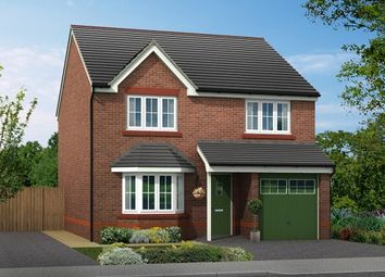 Thumbnail 4 bed detached house for sale in Plot 4, Biddulph Road, Congleton, Cheshire
