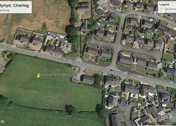 Thumbnail Land for sale in Development Land @ Chwilog, Pen Llyn, Llyn Peninsula, North West Wales