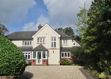 Thumbnail 5 bedroom detached house to rent in Croftdown Road, Harborne, Birmingham