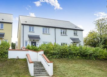 Thumbnail 3 bed semi-detached house for sale in Vicarage Hill, Kingsteignton, Newton Abbot
