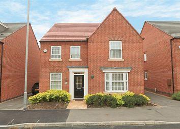 Thumbnail 4 bed detached house for sale in Kenbrook Road, Hucknall, Nottingham
