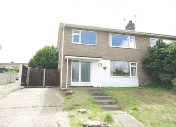 Thumbnail 3 bedroom semi-detached house for sale in Fallowfield Close, Norwich