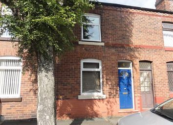 Thumbnail 2 bed terraced house to rent in Charlton Street, Latchford, Warrington