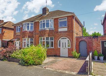 Thumbnail 3 bed semi-detached house for sale in Fairbourne Road, Braunstone Town, Leicester