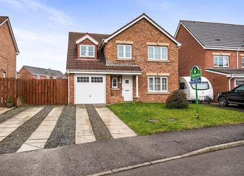 Thumbnail 4 bedroom detached house for sale in Hopepark Drive, Smithstone, Cumbernauld