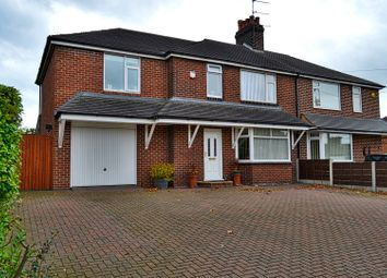Thumbnail 4 bed semi-detached house for sale in Congleton Road North, Scholar Green