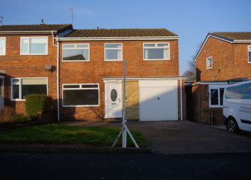 Thumbnail 4 bed semi-detached house for sale in The Wynding, Bedlington