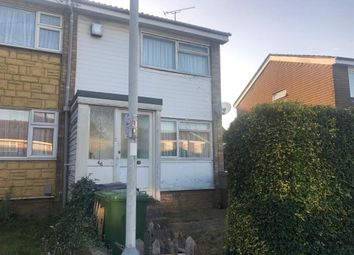 Thumbnail 2 bedroom end terrace house for sale in Strangers Way, Luton, Bedfordshire