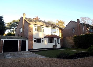 Thumbnail 4 bed detached house to rent in Fossewood Drive, Camberley