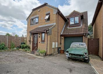 Thumbnail 3 bed detached house for sale in Manor Grove, Eynesbury, St. Neots