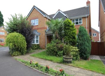Thumbnail 4 bedroom detached house to rent in Coppice Way, Stafford