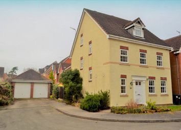 Thumbnail 5 bed detached house for sale in Admington Drive, Hatton Park, Warwick, Warwickshire
