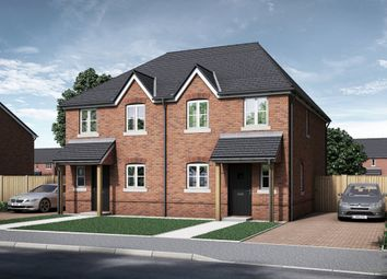 Thumbnail 3 bed semi-detached house for sale in The Downpatrick, Steventon Road, East Hanney, Oxfordshire