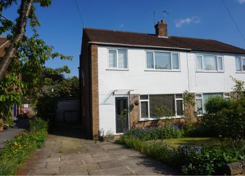 Thumbnail 3 bed semi-detached house for sale in Norfolk Close, Leeds