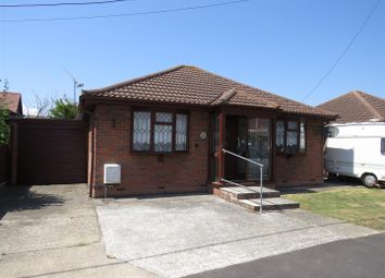 Thumbnail 2 bed detached bungalow for sale in Hannett Road, Canvey Island