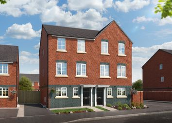 "Thumbnail 4 bed property for sale in ""The Yew At Lyme Gardens, Stoke-On-Trent"" at Wellington Road, Hanley, Stoke-On-Trent"