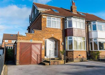 Thumbnail 4 bed semi-detached house for sale in Kirkwood Drive, Cookridge