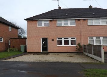 Thumbnail 3 bed semi-detached house to rent in Adlington Avenue, Wingerworth, Chesterfield.