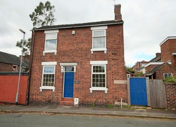 Thumbnail 3 bed detached house for sale in Wilson Street, Newcastle-Under-Lyme