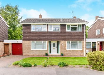 Thumbnail 4 bedroom detached house for sale in Flambards Close, Meldreth, Royston