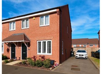 Thumbnail 3 bed semi-detached house for sale in Underhill Way, Leamington Spa