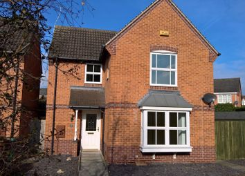 Thumbnail 3 bed detached house for sale in Wye Close, Hilton, Derby