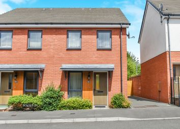 Thumbnail 2 bed terraced house for sale in Bartley Wilson Way, Cardiff