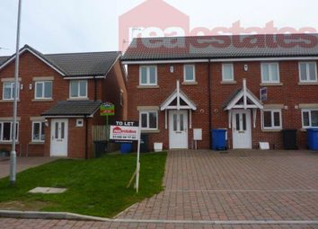 Thumbnail 2 bed terraced house to rent in Chestnut Way, Widdrington, Morpeth
