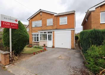 Thumbnail 4 bed detached house for sale in Moorcroft Drive, Sheffield