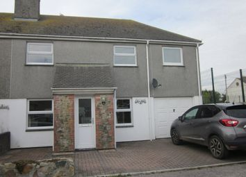 Thumbnail 4 bed semi-detached house for sale in Mutton Hill, Connor Downs, Hayle