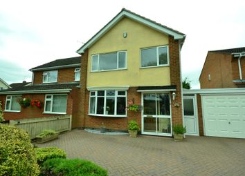 Thumbnail 3 bed semi-detached house for sale in Rockingham Close, Blaby, Leicester