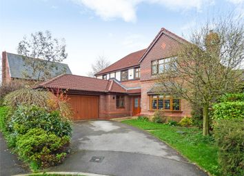 Thumbnail 4 bed detached house for sale in Swarbrick Avenue, Grimsargh, Preston, Lancashire