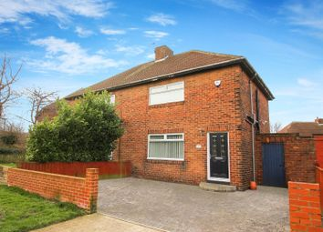 Thumbnail 3 bed semi-detached house for sale in Havelock Road, Backworth, Newcastle Upon Tyne