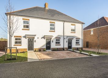 Thumbnail 2 bed terraced house for sale in Patricia Way, Meadow View, Nutbourne, Chichester