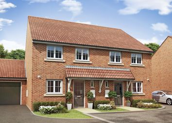 "Thumbnail 3 bedroom semi-detached house for sale in ""Barwick"" at Summerleaze Crescent, Taunton"