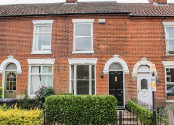 Thumbnail 2 bed terraced house to rent in Leopold Road, Norwich