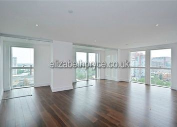 Thumbnail 3 bedroom flat to rent in Talisman Tower, 6 Lincoln Plaza, London