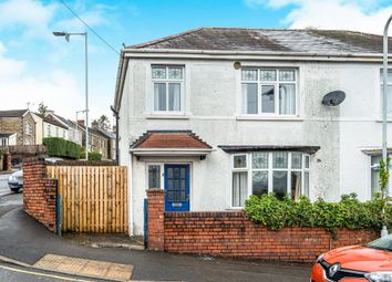 Thumbnail 3 bedroom semi-detached house for sale in Vicarage Road, Morriston, Swansea