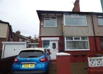 Thumbnail 3 bed semi-detached house for sale in Brooklands Avenue, Waterloo, Liverpool, Merseyside
