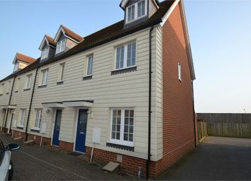 Thumbnail 3 bed end terrace house to rent in Weyland Drive, Stanway, Colchester, Essex