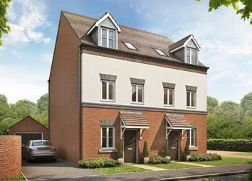 "Thumbnail 3 bedroom semi-detached house for sale in ""Buckley"" at Locksbridge Road, Picket Piece, Andover"